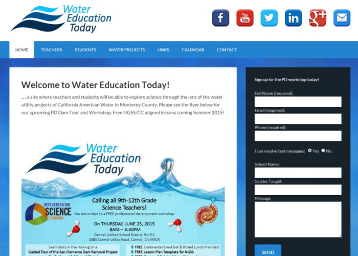 Water Education Today