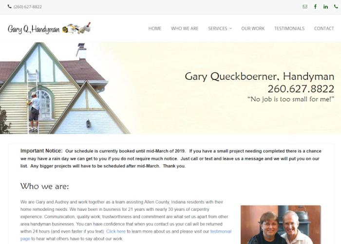 Gary's Home Repairs